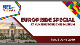 EuroPride Special Kunsthistorisches Museum 2019 à Vienne le lun.  3 juin 2019 de 13h30 à 20h00 (Festival Gay, Lesbienne, Trans, Bi)