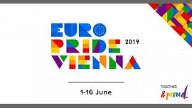 EuroPride Vienna 2019 em Viena le sáb,  1 junho 2019 00:01-23:59 (Festival Gay, Lesbica, Trans, Bi)