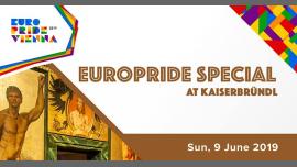 EuroPride Special Kaiserbründl 2019 à Vienne le dim.  9 juin 2019 de 12h00 à 13h00 (Festival Gay, Lesbienne, Trans, Bi)