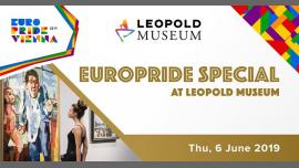 EuroPride Special Leopold Museum 2019 à Vienne le jeu.  6 juin 2019 de 18h00 à 20h30 (Festival Gay, Lesbienne, Trans, Bi)