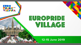 EuroPride Village 2019 à Vienne le sam. 15 juin 2019 de 10h00 à 23h59 (Festival Gay, Lesbienne, Trans, Bi)