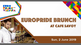 EuroPride Brunch 2019 in Vienna le Sun, June  2, 2019 from 12:00 pm to 10:00 pm (Brunch Gay, Lesbian, Trans, Bi)