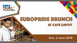 EuroPride Brunch 2019 em Viena le dom,  2 junho 2019 12:00-22:00 (Brunch Gay, Lesbica, Trans, Bi)