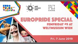 FemFriday #9 Aaron Porter, Sanni Est, Dacid Go8lin à Vienne le ven.  7 juin 2019 de 19h30 à 22h30 (Festival Gay, Lesbienne, Trans, Bi)