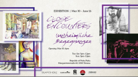 Ausstellung: Close Encounters – (un)heimliche Begegnungen in Vienna le Sun, June 16, 2019 from 03:00 pm to 12:00 am (Expo Gay)