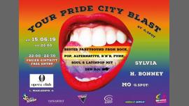 YOUR (O) Pride City Blast by g.spot à Vienne le sam. 15 juin 2019 de 22h00 à 05h00 (Clubbing Gay, Lesbienne, Trans, Bi)