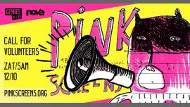 Call for Volunteers - 18th Pink screens festival à Bruxelles le sam. 12 octobre 2019 de 19h00 à 01h00 (Cinéma Gay, Lesbienne, Hétéro Friendly)