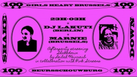 Afterparty Shakedown: DJ Lakuti + Marnie à Bruxelles le sam. 10 novembre 2018 de 23h00 à 03h00 (After-Work Gay, Lesbienne, Hétéro Friendly)