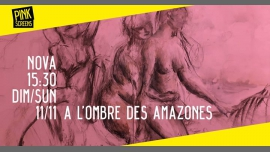 A l'ombre des amazones - Lecture publique in Brussels le Sun, November 11, 2018 from 03:30 pm to 04:30 pm (Meetings / Discussions Gay, Lesbian, Hetero Friendly)