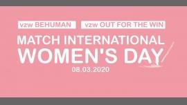 Match International Women's Day en Bruselas le dom  8 de marzo de 2020 11:00-22:00 (Reuniones / Debates Gay, Lesbiana)