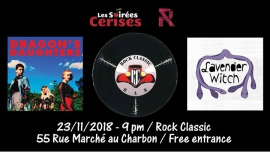 Lavender Witch + Dragon's Daughters au RocK Classic in Brussels le Fri, November 23, 2018 from 09:00 pm to 11:00 pm (After-Work Gay, Lesbian)
