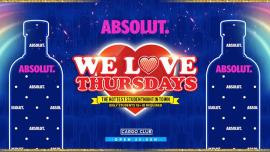 We Love Thursdays Summer Love em Antuérpia le qui, 22 agosto 2019 23:00-06:00 (Clubbing Gay)