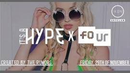 安特卫普It's a HYPE x FOUR | Friday 29th of November.2020年12月10日,00:00(男同性恋友好 俱乐部/夜总会)