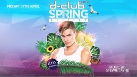 安特卫普D-Club Party - Spring Edition - POSTPONED2020年10月17日,22:00(男同性恋 俱乐部/夜总会)