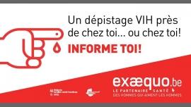 CHARLEROI.Test VIH/Syphilis/VHC: Gratuit, Rapide, Confidentiel à Charleroi le jeu.  2 avril 2020 de 16h00 à 20h00 (Prévention santé Gay, Lesbienne, Trans, Bi)