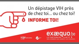 CHARLEROI.Test VIH/Syphilis/VHC: Gratuit, Rapide, Confidentiel in Charleroi le Tue, December 22, 2020 from 05:00 pm to 08:00 pm (Health care Gay, Lesbian, Trans, Bi)