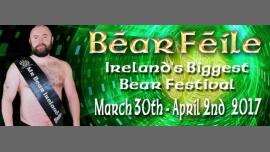 Béar Féile 2017 en Dublín del 30 de marzo al  2 de abril de 2017 (Clubbing Gay, Oso)