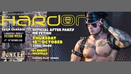 Hard On - Official After Party Mr Fetish a Playa del Ingles le gio 10 ottobre 2019 23:00-06:00 (Clubbing Gay)