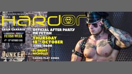 Hard On - Official After Party Mr Fetish à Playa del Ingles le jeu. 10 octobre 2019 de 23h00 à 06h00 (Clubbing Gay)