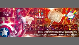 """Freedom Party """"Superheroes"""" - Official Afterparty - FFM 2018 in Maspalomas le Fri, October 12, 2018 from 11:59 pm to 06:00 am (Clubbing Gay)"""