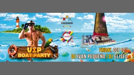 """Freedom Party """"VIP Boat Party"""" in Mogán le Fri, October 12, 2018 from 03:00 pm to 09:00 pm (Cruise Gay)"""