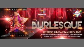 """Freedom Party """"Burlesque"""" - Official Afterparty - FFM 2018 in Maspalomas le Thu, October 11, 2018 from 11:59 pm to 06:00 am (Clubbing Gay)"""