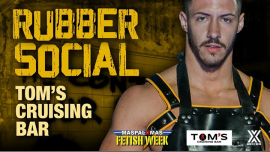 Rubber Social in Playa del Ingles le Mi  9. Oktober, 2019 22.00 bis 03.00 (Sexe Gay)
