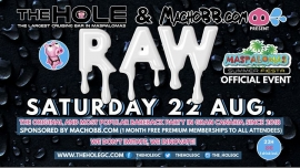 Raw Bareback Party - Maspalomas Summer Fiesta in Playa del Ingles le Sa 22. August, 2020 22.00 bis 04.00 (Sexe Gay)