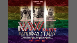 Raw Party - Gay Pride Maspalomas 2019 in Playa del Ingles le Sa 11. Mai, 2019 22.00 bis 05.00 (Sexe Gay)