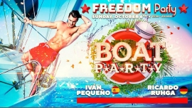 Freedom Vip Boat Party - Official Event FFM 2019 in Maspalomas le So  6. Oktober, 2019 15.30 bis 20.00 (Kreuzfahrt Gay, Lesbierin)