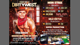 FREEDOM Party - Dirty West - Massive Main Event Maspalomas Pride in San Agustín le Fri, May 10, 2019 from 12:00 pm to 10:00 pm (Clubbing Gay, Lesbian)