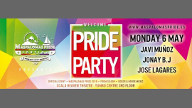Welcome Pride Party - Official Event Maspalomas Pride 2019 in Maspalomas le Mon, May  6, 2019 from 11:59 pm to 06:00 am (Clubbing Gay, Lesbian)