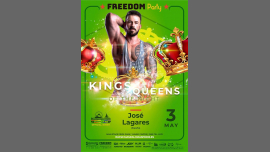 FREEDOM Party - Kings/Queens of the Night-Maspalomas Pride 2019 in Maspalomas le Sa  4. Mai, 2019 23.59 bis 04.30 (Clubbing Gay, Lesbierin)