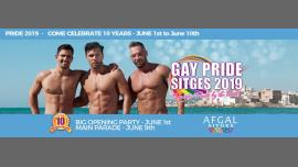 Sitges Pride 2019 - 10th Edition em Sitges de  1 para 10 de junho de 2019 (Festival Gay)