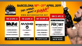 Matinée Easter Weekend · 18th-21st April 2019 · Barcelona a Barcellona dal 18-22 aprile 2019 (Festival Gay)