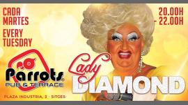 Lady Diamond em Sitges le ter, 13 agosto 2019 20:00-22:00 (Show Gay, Lesbica)