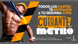 Martes día del Currante en Metro in Barcelona le Tue, June 18, 2019 from 11:59 pm to 06:00 am (Clubbing Gay)