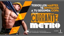 Martes día del Currante en Metro en Barcelona le mar 23 de julio de 2019 23:59-06:00 (Clubbing Gay)