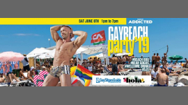 Gay Beach Party at Hola Beach em Sitges le sáb,  8 junho 2019 13:00-19:00 (Clubbing Gay)