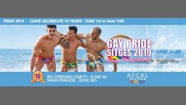 Gay Pride Sitges 2019 - 10th Edition in Sitges von  1 bis 10. Juni 2019 (Festival Gay)