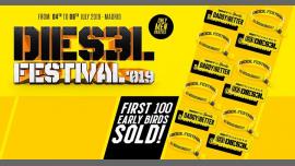 Dies3l Festival - From 4th to 6th July 2019 - Madrid Pride à Madrid le jeu.  4 juillet 2019 de 23h30 à 07h00 (Clubbing Gay)