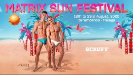 MATRIX SUN FESTIVAL 2020 à Madrid du 18 au 23 août 2020 (Clubbing Gay)