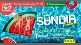 Benidorm Pride Festival presenta Sandia à Benidorm le ven.  7 septembre 2018 de 15h00 à 22h00 (Clubbing Gay)