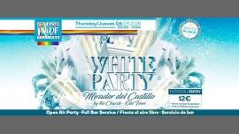 WHITE PARTY à Benidorm le jeu.  6 septembre 2018 de 20h00 à 01h00 (Clubbing Gay, Lesbienne, Trans, Bi)