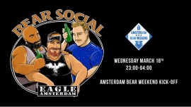 Bear Social at Eagle (ABW2020) in Amsterdam le Wed, March 18, 2020 from 11:00 pm to 04:00 am (Clubbing Gay, Bear)