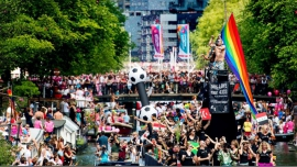 Amsterdam Canal Parade 2016 in Amsterdam le Sat, August  6, 2016 at 02:00 pm (Parades Gay, Lesbian)