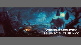 Vriendjespolitiek: Halloween Special in Amsterdam le Fri, October 28, 2016 from 11:00 pm to 05:00 am (Clubbing Gay Friendly)