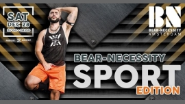 Bear-Necessity Sport Edition in Amsterdam le Sa 28. Dezember, 2019 23.00 bis 05.00 (Clubbing Gay, Bear)