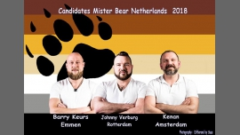 Meet the Mister Bear Netherlands contestants (ABW2018) in Amsterdam le Fri, March  2, 2018 from 06:00 pm to 09:00 pm (After-Work Gay, Bear)