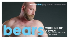 Bears at Sauna NZ (ABW2020) in Amsterdam le Sa 21. März, 2020 14.00 bis 23.00 (Sexe Gay)